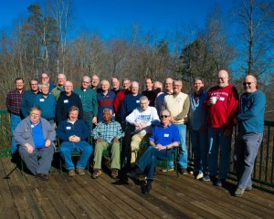 The Men's Retreat Attendees